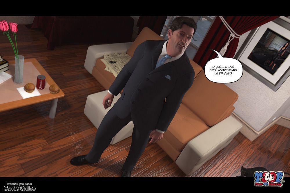 Hentai 3D – Se masturbando pra mamãe Parte 3 – Quadrinhos Incesto