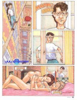 O Suicida sortudo – HQ Adulto – Quadrinhos Hentai