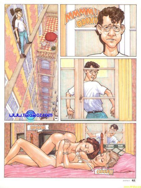 O Suicida sortudo - HQ Adulto - Quadrinhos Hentai