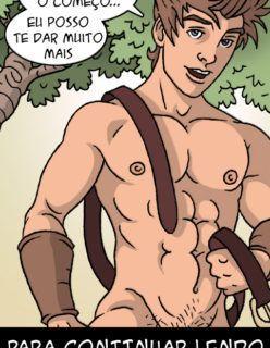 Quadrinhos Gay – A lenda de Robin Hood – HQs Adulto