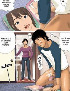 Hentai – Batendo punheta com a foto da mãe antes foder com ela – Quadrinhos Incesto