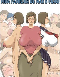 Quadrinhos Incesto – Fodendo a buceta da minha mãe safada – Hentai