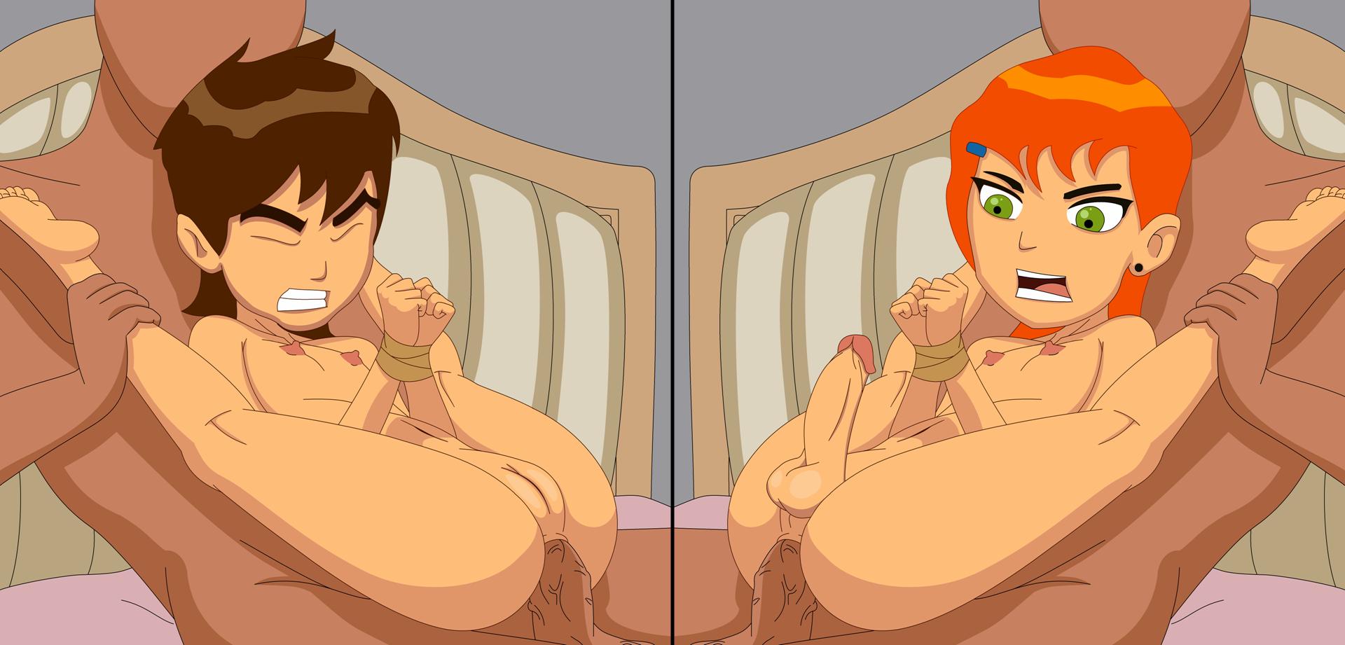 As melhores imagens porno do Ben 10 - Cartoon Porno