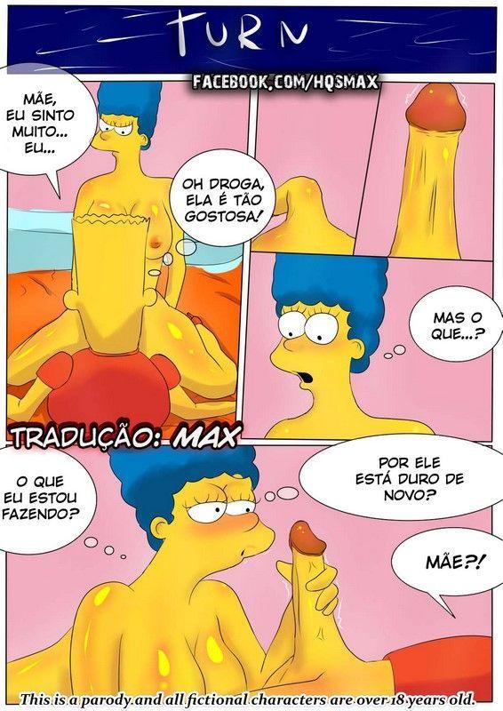 Os Simpsons Hentai - Mamãe fogosa arrebentando na foda - Hentai Brasil