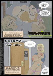 Contos Eróticos – Duas Irmãs, Duas Putas – Comics Incesto