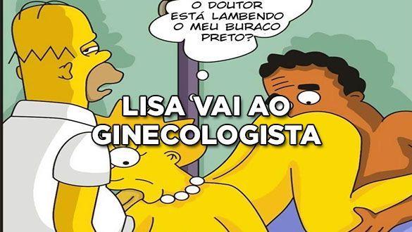 Lisa vai ao Ginecologista