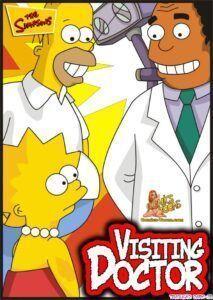 Os Simpsons Porno – Lisa vai ao Ginecologista