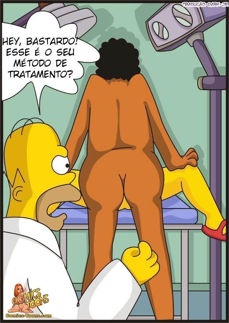Os Simpsons Porno - Lisa vai ao Ginecologista