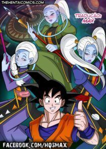 Dragon Ball Hentai – Treinamento especial para Goku – Quadrinho de Sexo