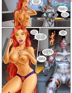 Teens Titans Interracial – Sacanagem na torre dos Titans