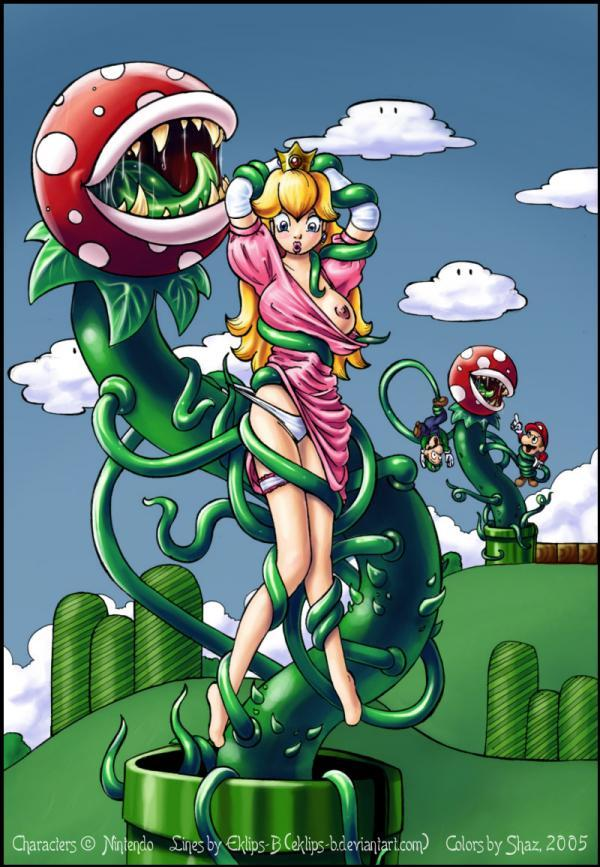 A princesinha do Super Mário safada peladinha
