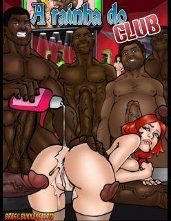 A Rainha do clube – HQ de Sexo