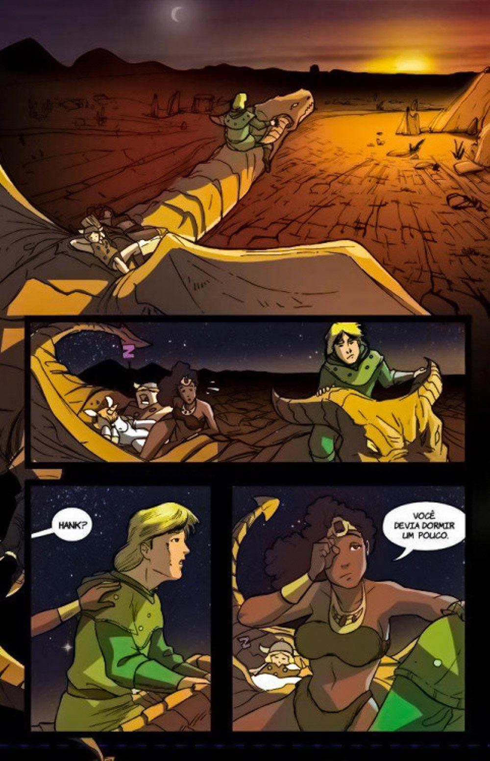 O verdadeiro capitulo final de Cavernas dos Dragões