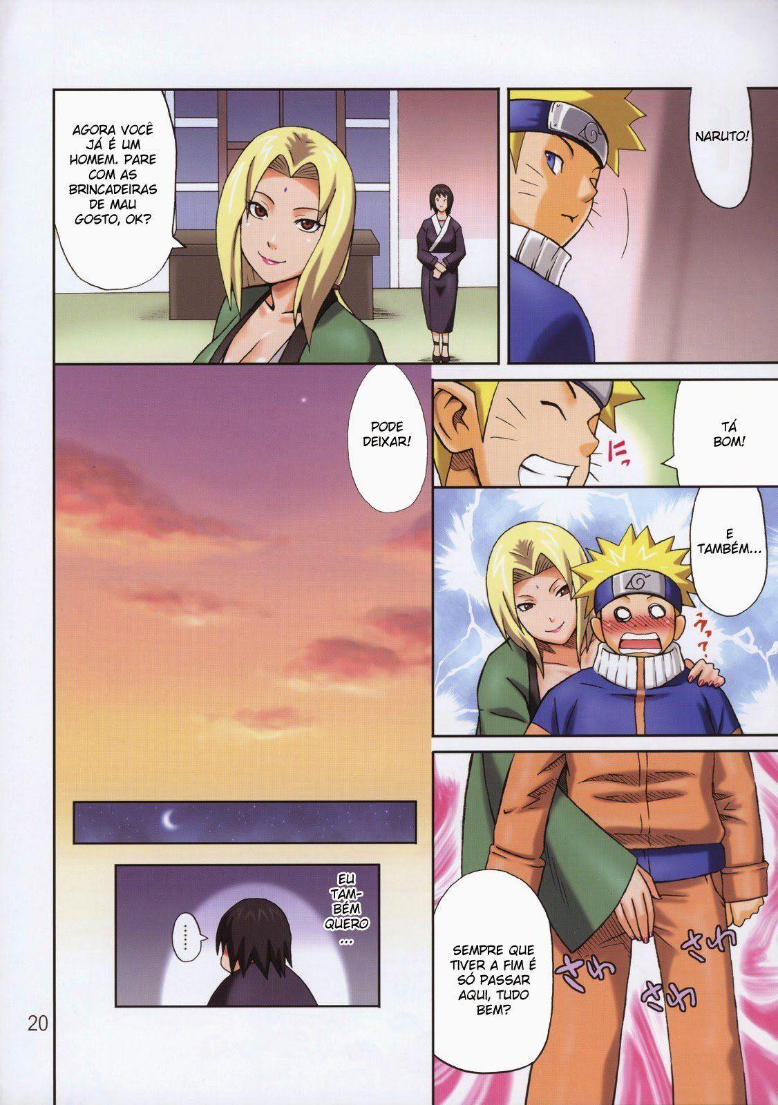 Naruto Hentai Colorido - Naruto fazendo sexo com todo mundo