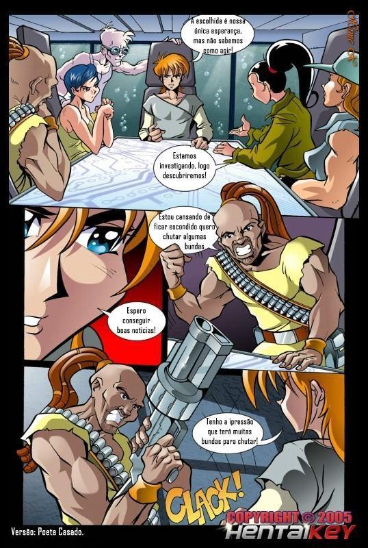 Matrix Hentai - A Revolução das pirocas