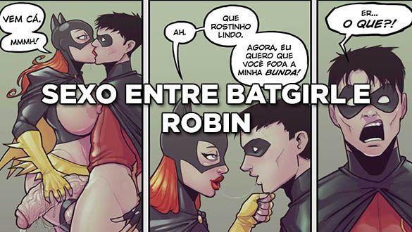 Sexo entre Batgirl e Robin