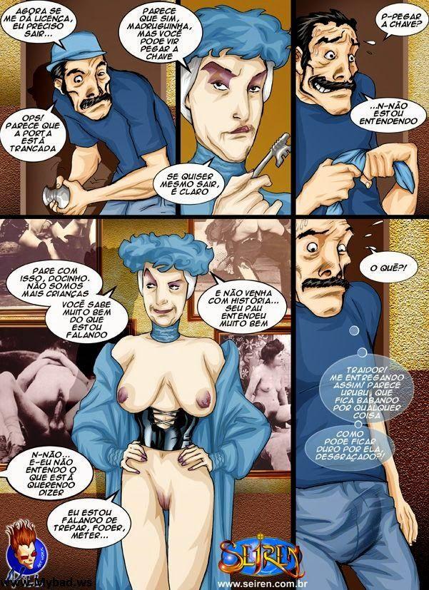 Chaves Porno - A turma da vila