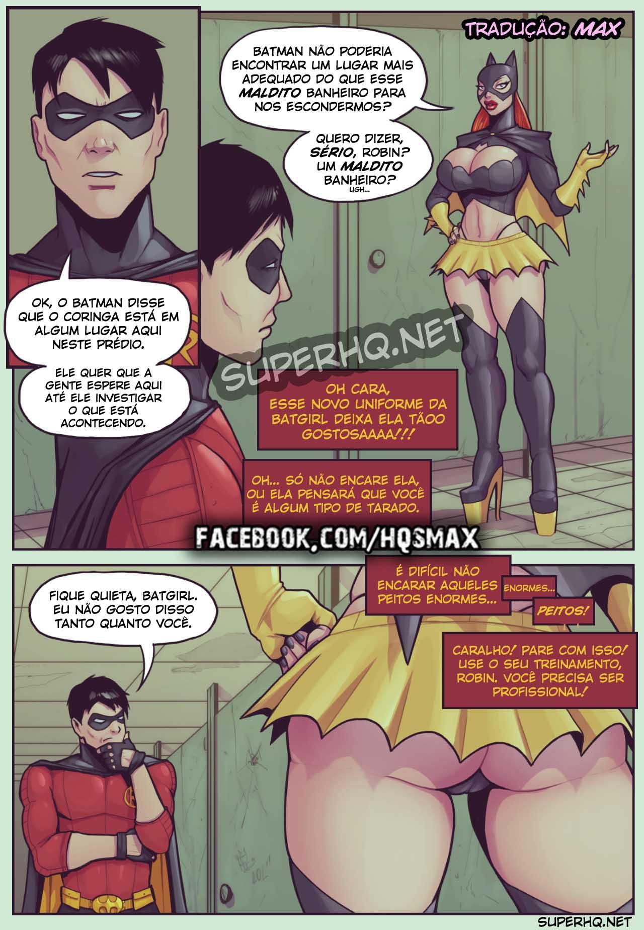 Sexo entre Batgirl e Robin - Batgirl Loves Robin