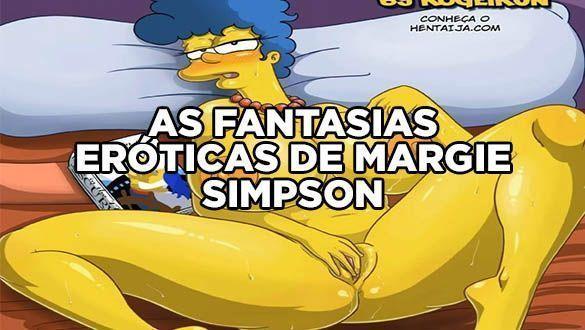 AS FANTASIAS ERÓTICAS DE MARGIE SIMPSONS
