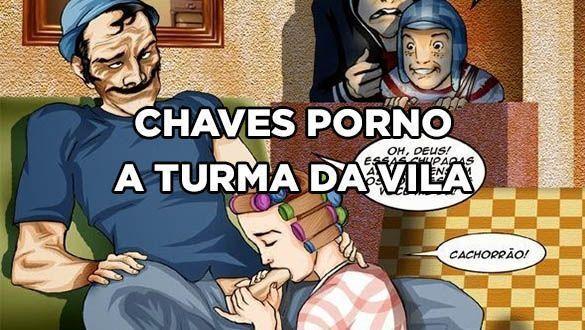 CHAVES PORNO A TURMA DA VILA